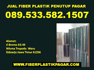 Jual plastik penutup pagar Surabaya