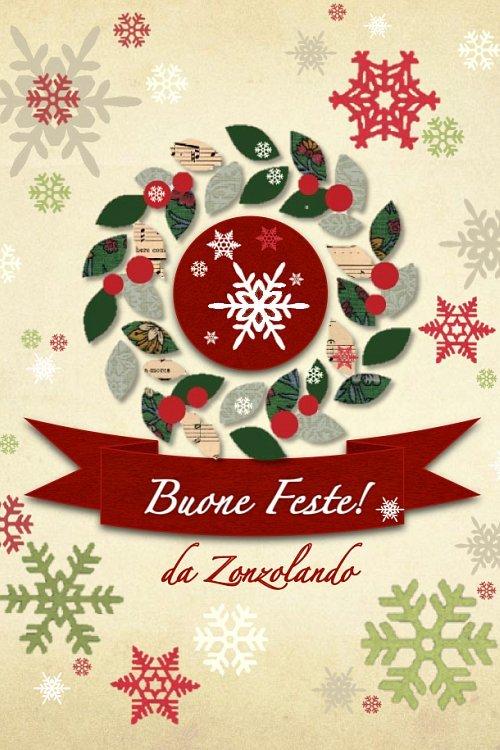 Buone feste 2012 da Zonzolando - Merry Christmas 2012 by Zonzolando
