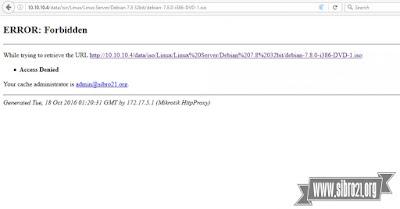 Selanjutnya coba di laptop klien akses file berekstensi .iso kalo sukses akan tampil gambar dibawah ini