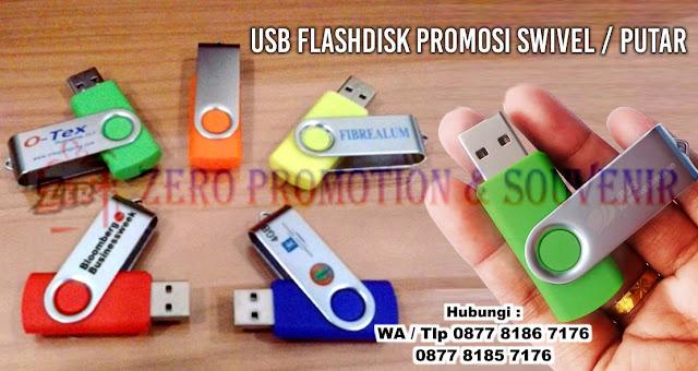 Souvenir Flashdisk Swivel FDPL11, usb putar promosi