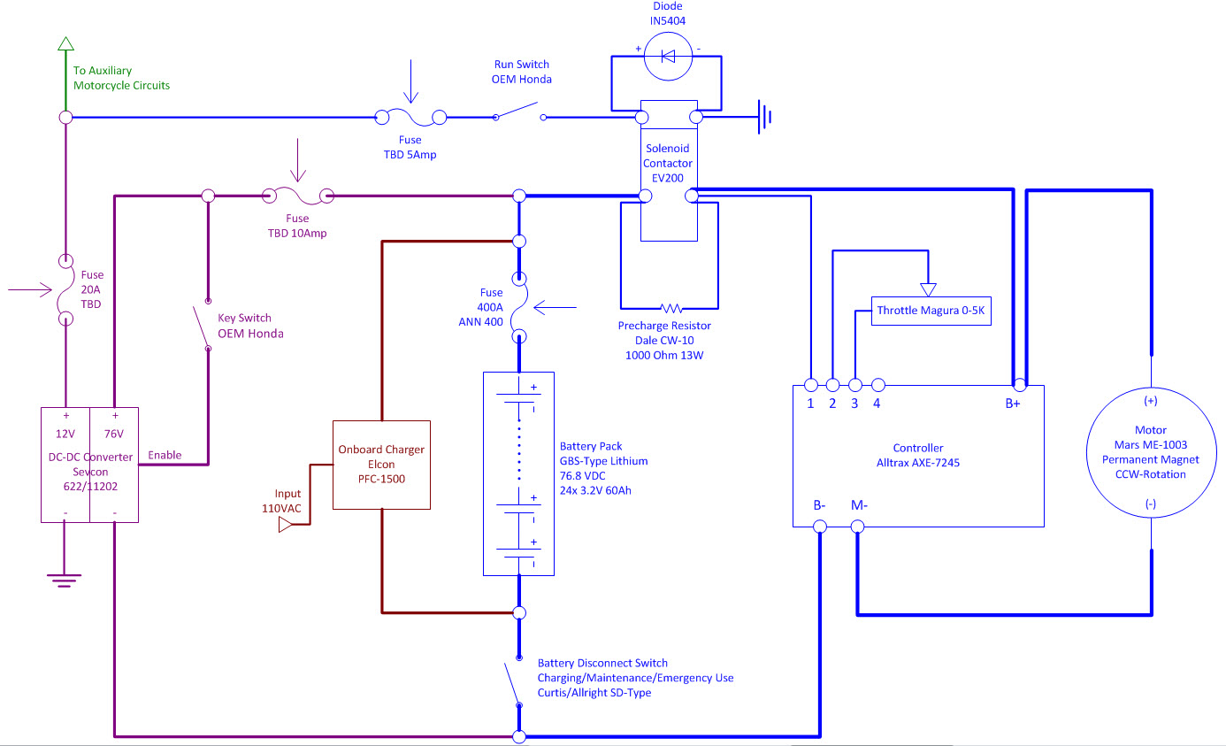 medium resolution of one step re forward wiring diagram re created electric motorcycle