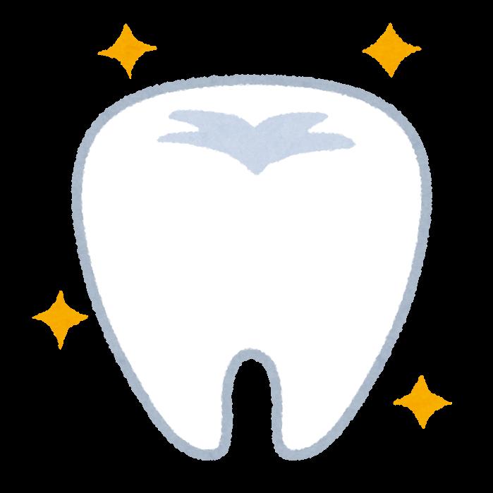 歯のイラスト健康的で綺麗な歯 かわいいフリー素材集 いらすとや