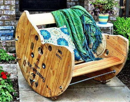 Things You Can Do With Recycled Cable Reels 10
