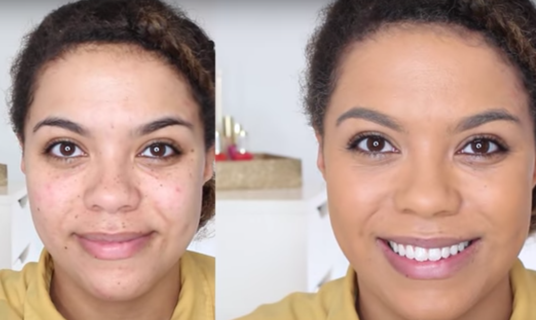 loreal total cover before and after