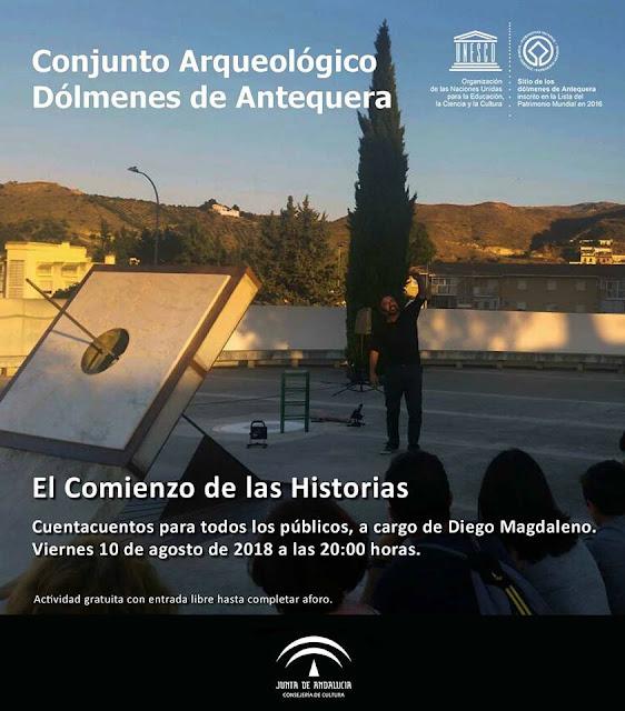 Cuentacuentos en los Dólmenes de Antequera