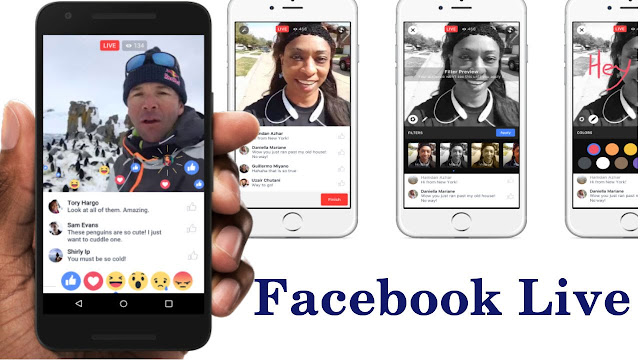 Facebook Live allow you add a friend to live stream together