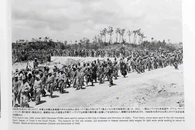 3000 Okinawan prisoners being sent to Hawaii