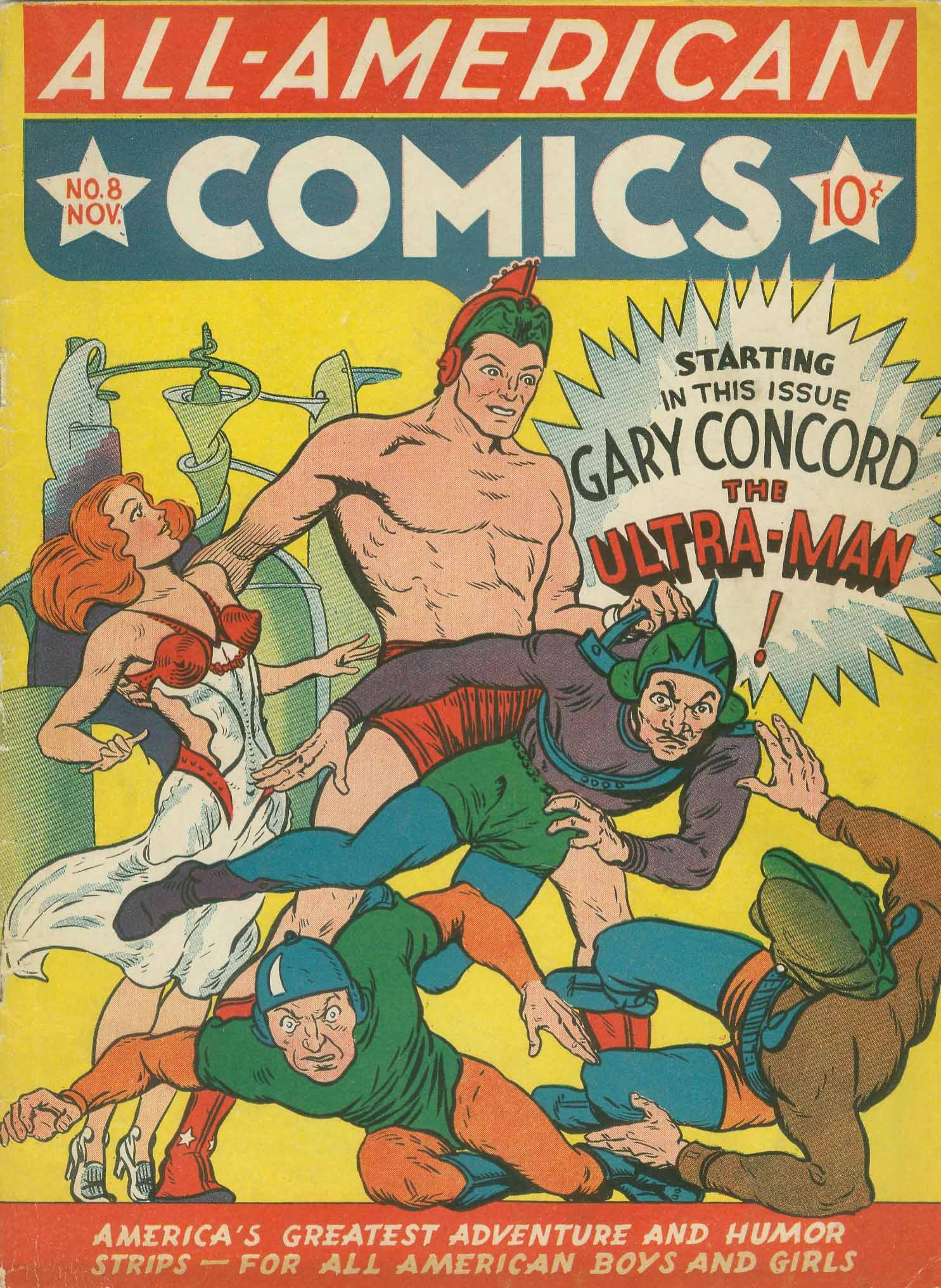Read online All-American Comics (1939) comic -  Issue #8 - 1
