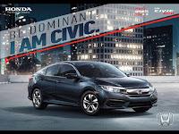 Honda Perkenalkan All New Honda Civic Generasi Kesepuluh, Sedan Revolusioner Dengan Mesin Turbo Pertama Di Kelasnya.