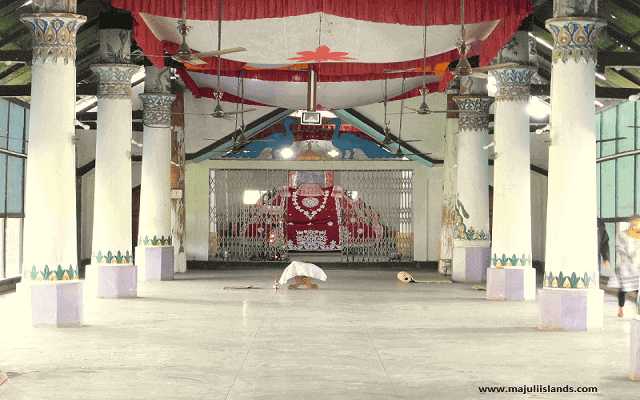 Uttar Kamalabari Satra Monikut Of Majuli Island