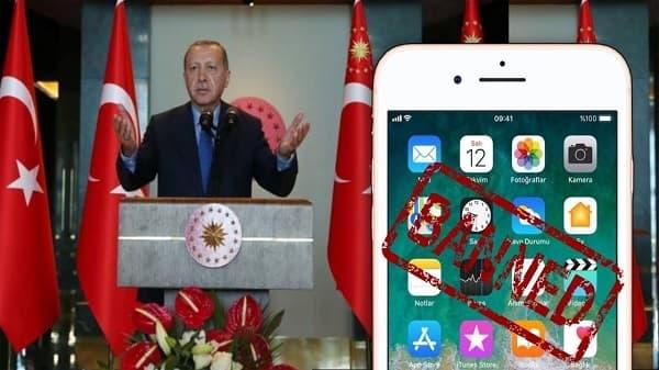 حرب التجارة : أردوغان يدعو الى عدم استخدام هواتف iPhone