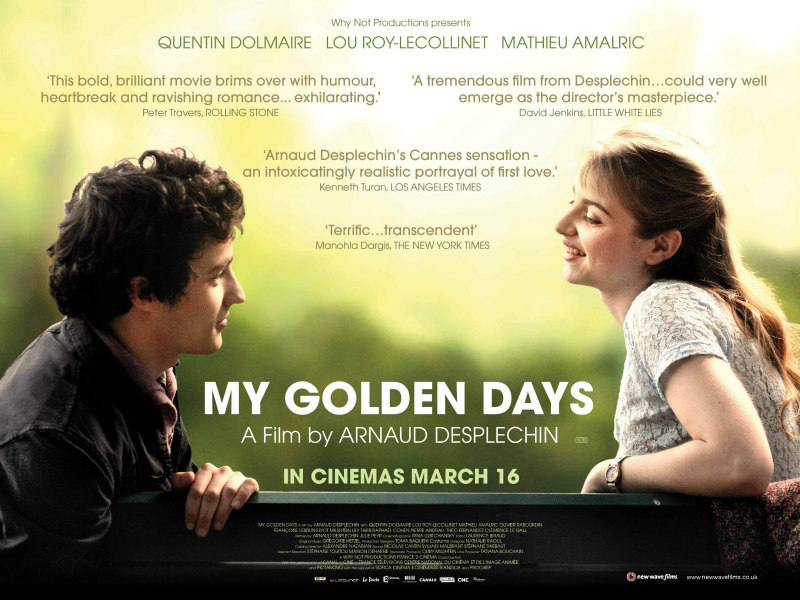 my golden days uk poster