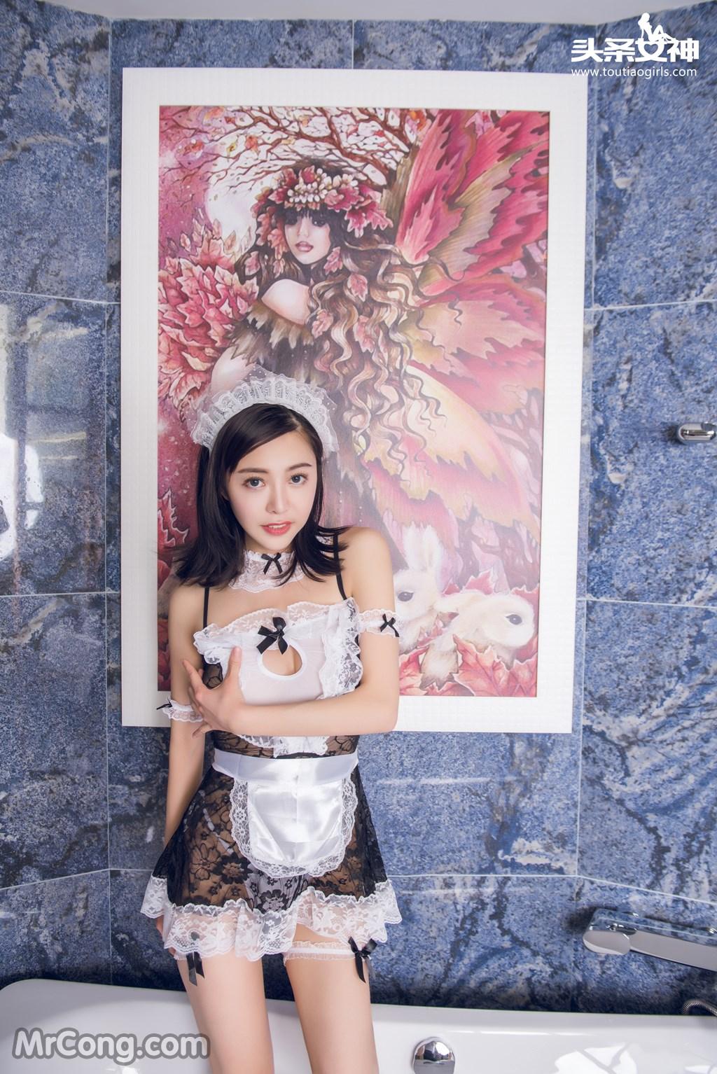 Image MrCong.com-TouTiao-2016-12-23-Xiao-Ai-009 in post TouTiao 2016-12-23: Người mẫu Xiao Ai (小爱) (22 ảnh)