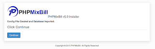 installing phpmixbill