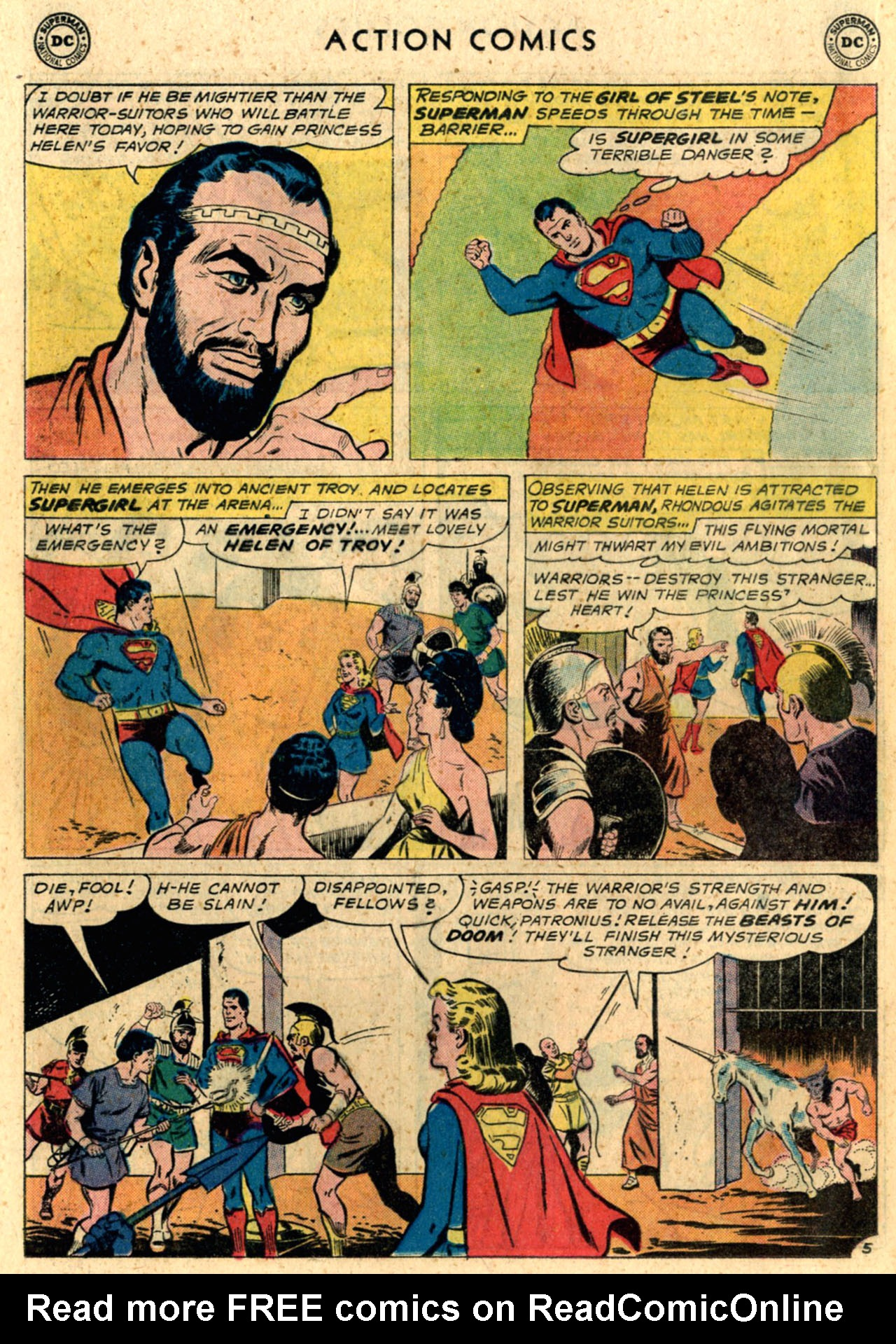 Read online Action Comics (1938) comic -  Issue #289 - 24