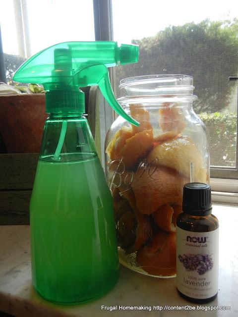 Frugal Homemaking Diy Lavender Citrus All Purpose Cleaner