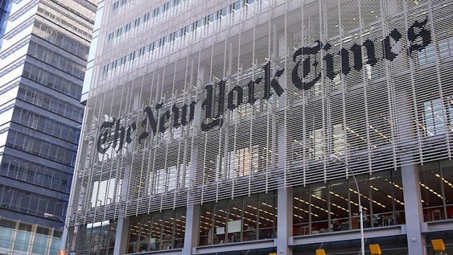 """Trump arremete contra el diario 'The New York Times' por su """"muy pobre y errónea cobertura"""""""