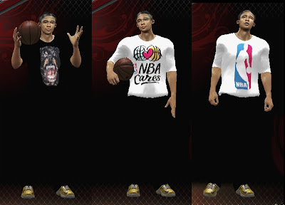 NBA 2K13 3 My Player T-Shirts Patch
