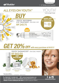 Eye treatment youth skin care