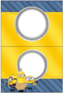 Etiquetas de Película de los Minions para imprimir gratis.