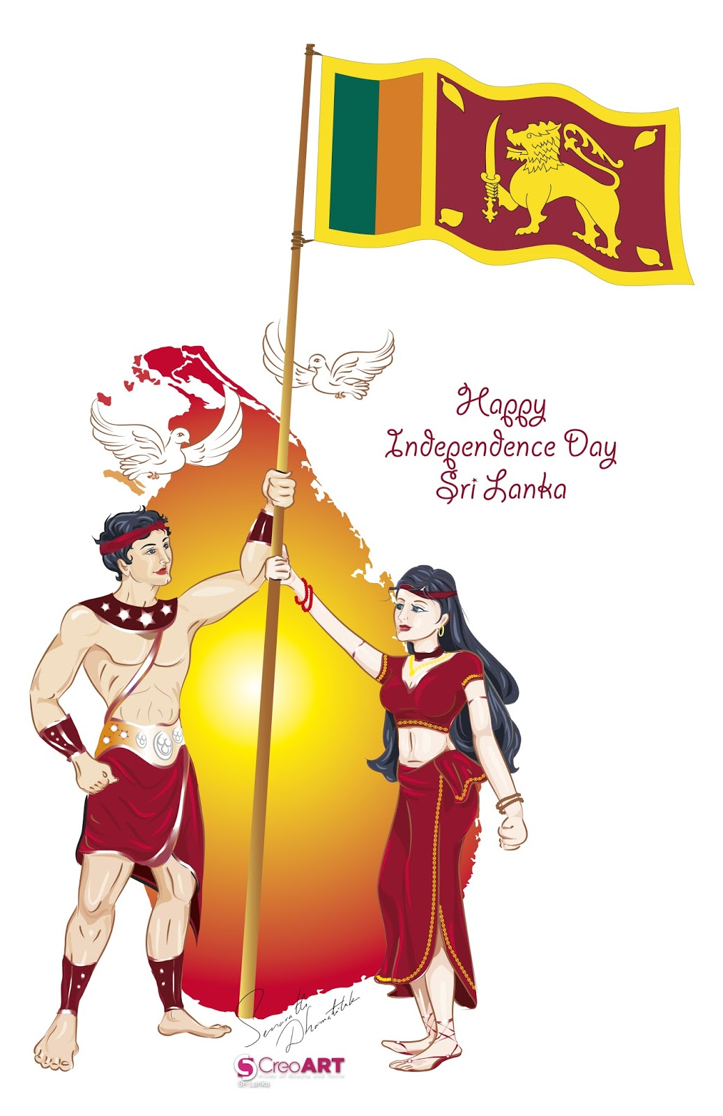 sri lanka s independence day The earl of wessex, prince edward and countess sophie rhys-jones arrived in sri lanka to participate in the 70th independence day celebrations to be held on sunday.
