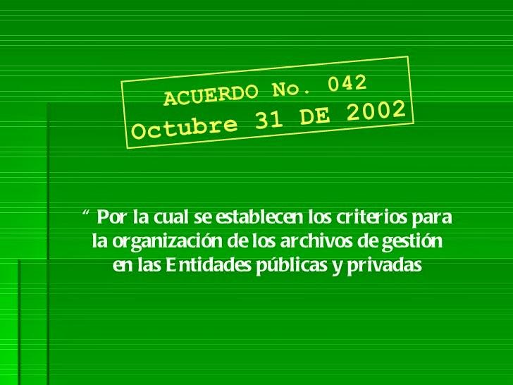 ACUERDO 042 DE 2002 PDF DOWNLOAD