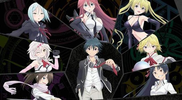 Manga Trinity Seven akan Mendapatkan Adaptasi Serial Anime Harem yang Keduanya!