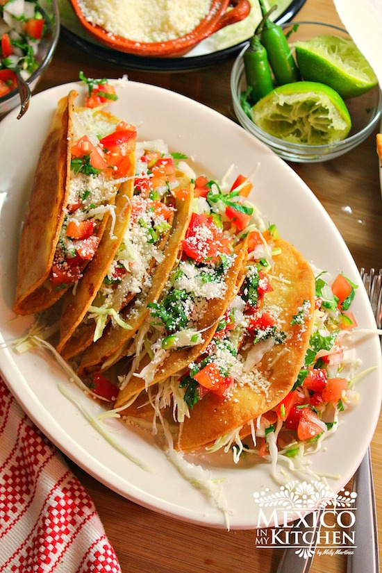 Potato Tacos Are Traditional Mexican Food