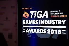 TIGA Announces Winners of the TIGA Games Industry Awards 2018