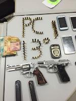 Polícia Civil prende homens armados em Picuí