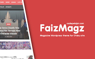 FaizMagz - Magazine Wordpress Theme