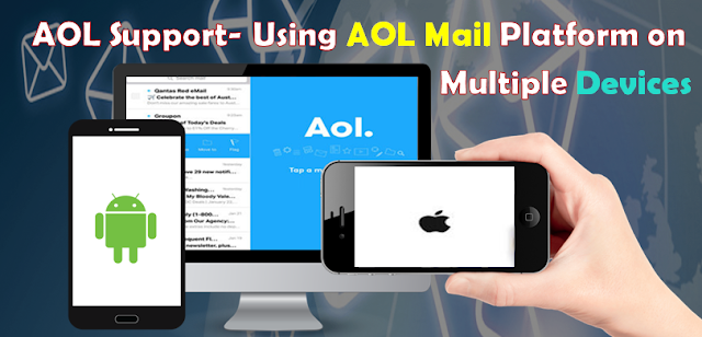 using aol mail on multiple devices