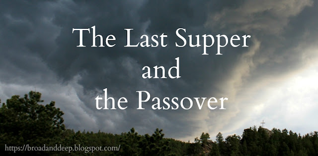 John and the Synoptic Gospels give a consistent chronologoy. The Last Supper is the Passover Seder, occurring before the crucifixion. Jesus is not crucified at the same time the Passover lambs are sacrificed; he dies as the evening Tamid sacrifice is offered.