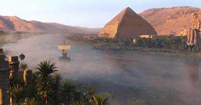 Nil Nehri haritdaki yeri