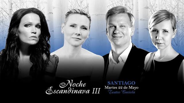 Tarja regresa a Chile como parte de Noche Escandinava III