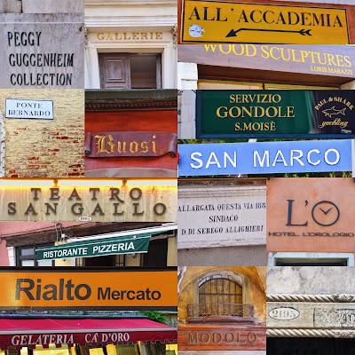 Venetian Signs