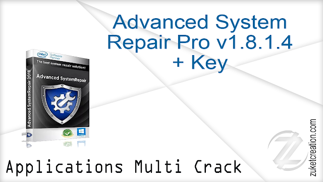 Advanced System Repair Pro v1.8.1.4 + Key