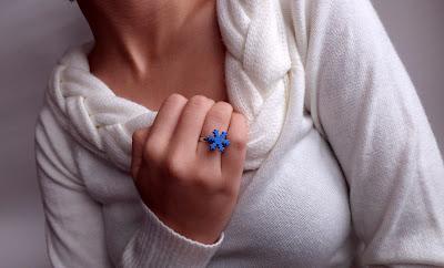 Fulg albastru (mic)