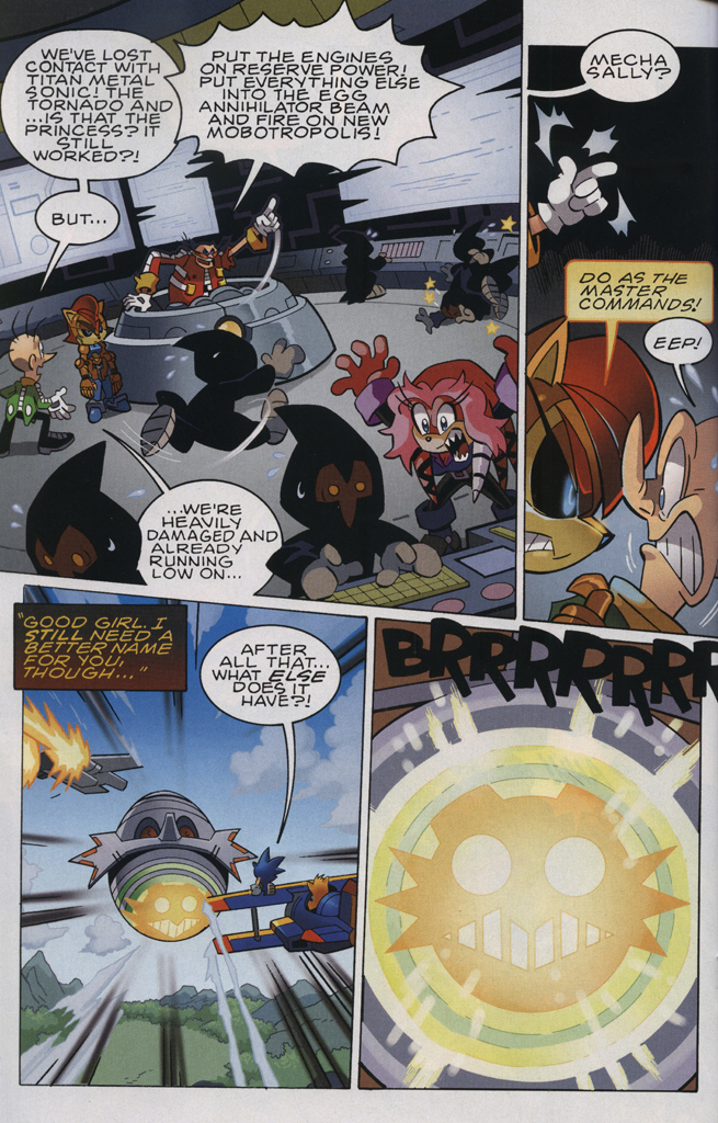Read online Sonic The Hedgehog comic -  Issue #231 - 16