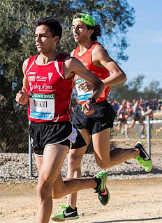 Atletismo Aranjuez Cross Itálica Amín Houkmi