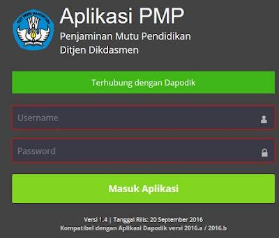 Info Penjelasan Seputar Update Aplikasi PMP 1.4