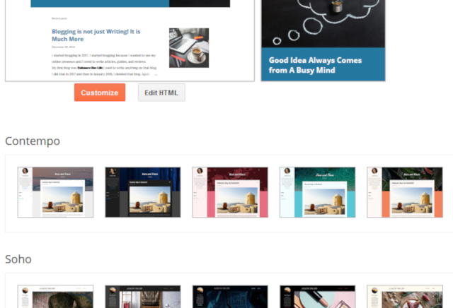 Blogger Review - Blogger Themes