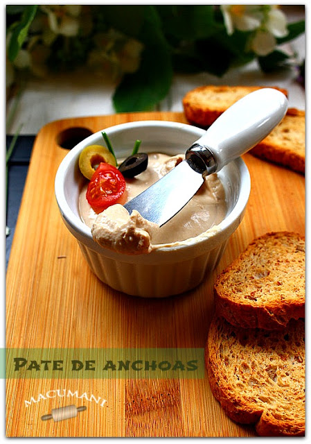 PATE DE ANCHOAS FACIL