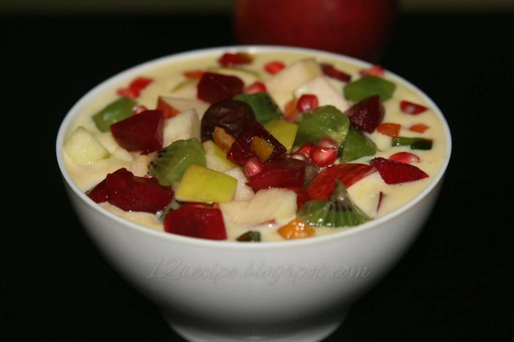 puding buah