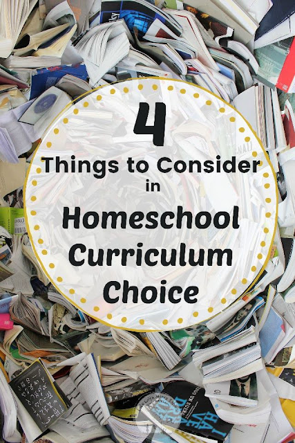 4 Things to Consider to Choose the Best Homeschool Curriculum
