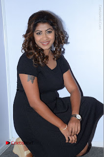 Tollywood Actress Geethanjali Thasya Latest Pos in Black Short Dress at Nanna Nenu Na Boyfriends Audio Launch  0031.JPG