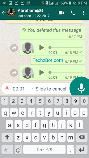 The popular instant messaging platform WhasApp has again added more features to it's latest version to enhance more user experience.