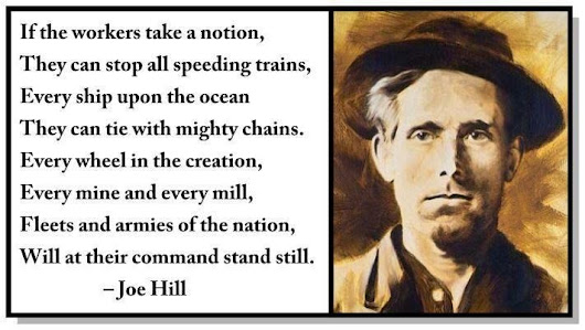 Union Workers Memorial Day Joe Hill Tribute