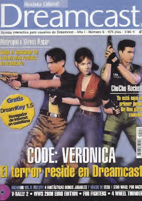 Revista Oficial Dreamcast Issue N°6