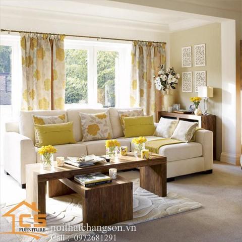 Sofa bền đẹp - giá rẻ sản xuất tại xưởng Nội Thất Chàng Sơn: Sofa đẹp 16